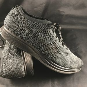 Mint condition NIKE FLYKNIT Racer Black Anthracite